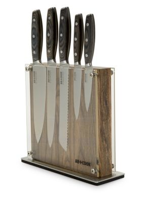 Ac Elite 6 Piece Magnetic Knife Set