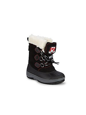 135265477ca Pajar Canada - Little Boy s   Boy s Mario Faux Fur-Lined Boots