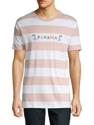 Barney Cools Striped Cotton Tee