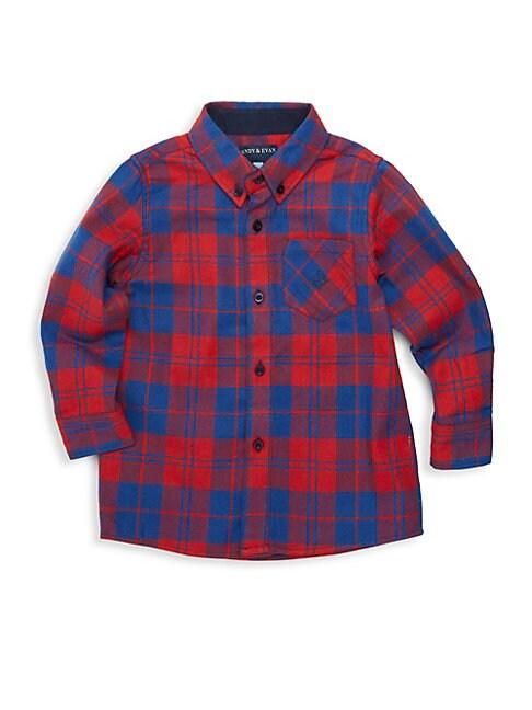ANDY & EVAN Little Boy'S Flannel Shirt