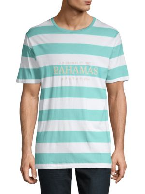 Barney Cools Embroidered Cotton Tee