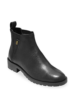 70f575deb9a Cole Haan - Grand OS Calandra Leather Ankle Boots - saksoff5th.com