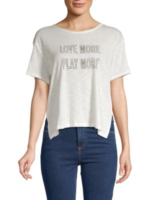 Nanette Lepore Boxy-Fit Graphic Tee