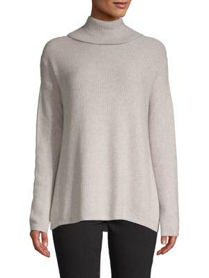 Bcbgmaxazria Cotton-Bend Turtleneck Sweater