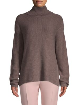 Bcbgmaxazria Cotton-Bend Turtleneck Sweater