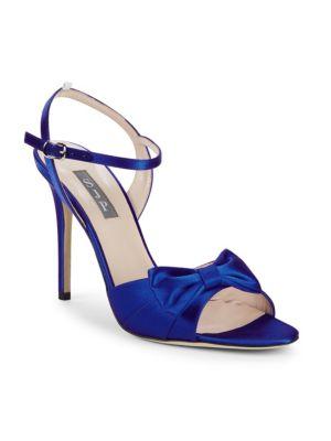 Sjp By Sarah Jessica Parker Louise Satin Bow Stiletto Sandals