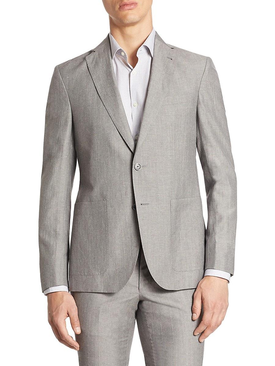 Men's MODERN Wool & Linen Suit Jacket
