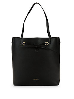 QUICK VIEW. Furla. Bow Detail Leather Tote dc14a4b101d39