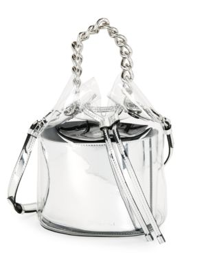 Kendall + Kylie Metallic Drawstring Crossbody Bag