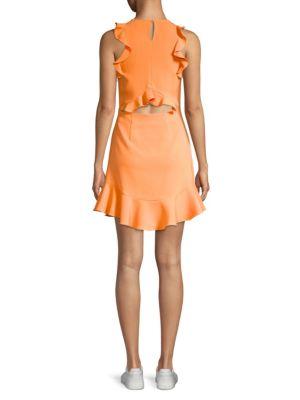 LIKELY Dresses FANNING RUFFLED DRESS