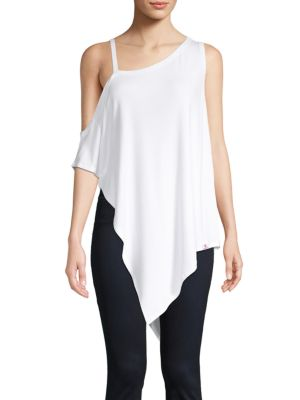Vimmia Serenity Cold-Shoulder Drape Top