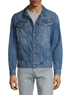 G-Star Raw Spread Collar Denim Jacket