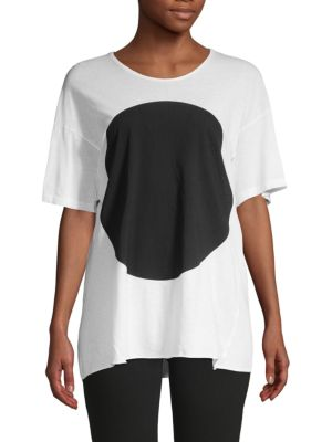 Bassike Big Dot Organic Cotton Tee