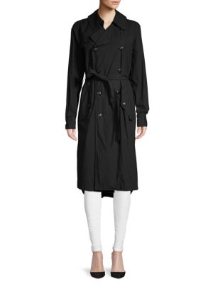 Bassike Cotton Poplin Trench Coat