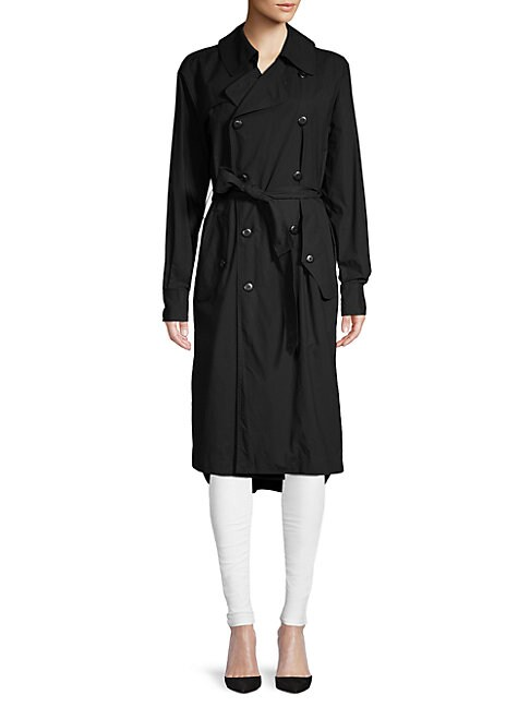 Cotton Poplin Trench Coat