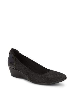 Anne Klein Follow Metallic Shoes