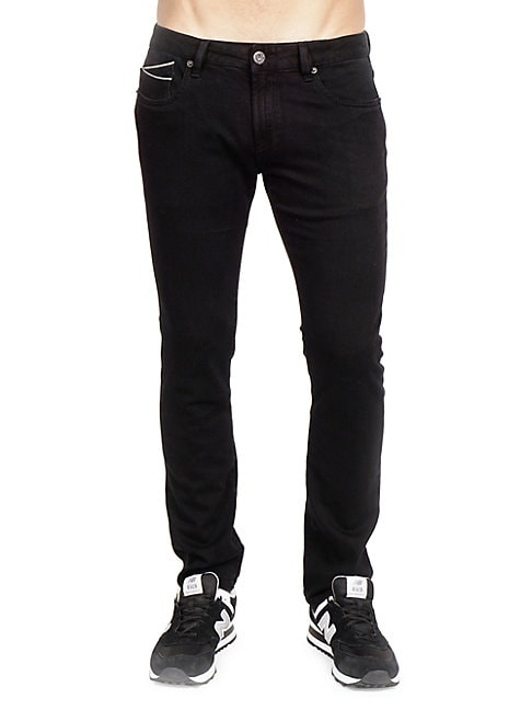 CULT OF INDIVIDUALITY | Rocker Slim-Stretch Jeans | Goxip