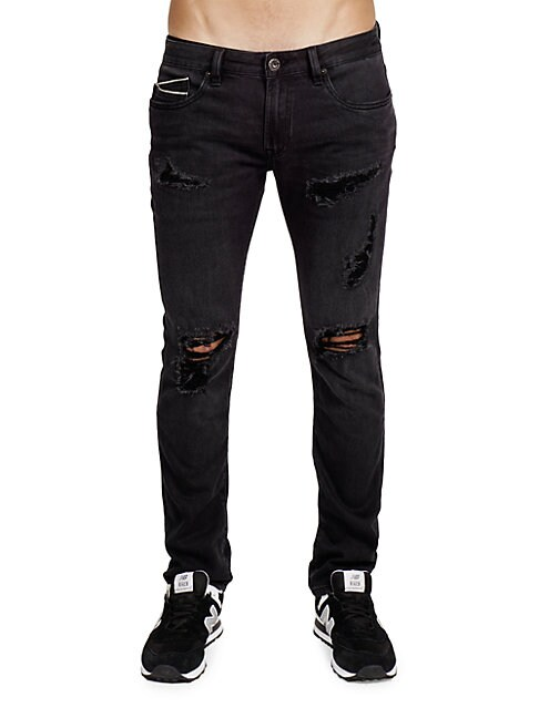 CULT OF INDIVIDUALITY | Isko Rocker Slim-Fit Jeans | Goxip