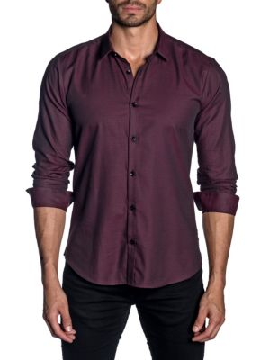 Jared Lang Classic Button-Down Shirt