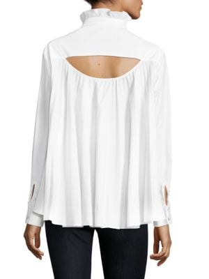 Saloni Mika Cutout Shirt