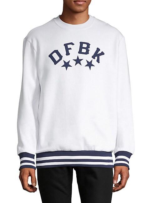 DFBK - DEFEND BROOKLYN   Logo Crewneck Sweater   Goxip