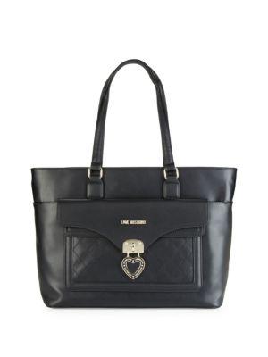 Love Moschino Totes Borsa Heart Locket Tote Bag
