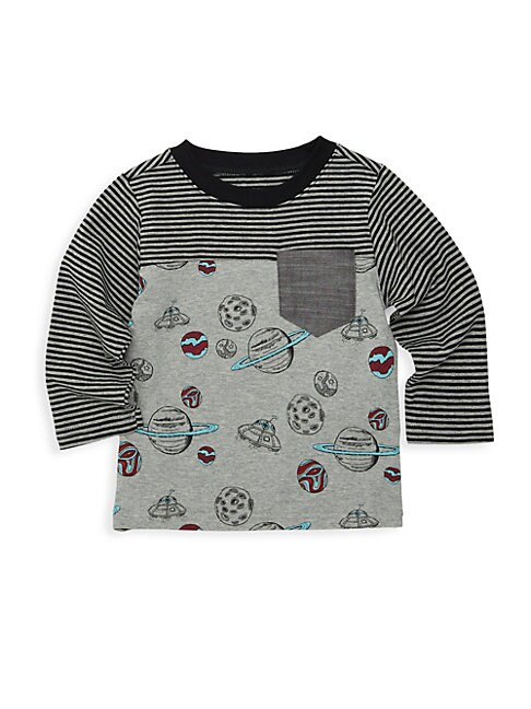 ANDY & EVAN Baby Boy'S Graphic Long-Sleeve T-Shirt