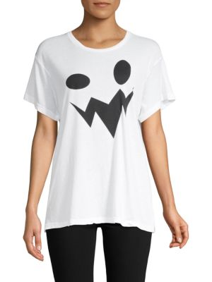Wildfox Manchester Oversized Graphic Tee