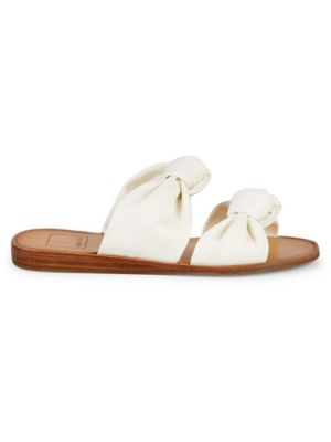 Dolce Vita Sandals Pascal Double Strap Knot Slip-On Sandals