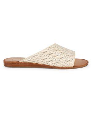 Dolce Vita Sandals Peigi Leopard Calf Hair Sandals