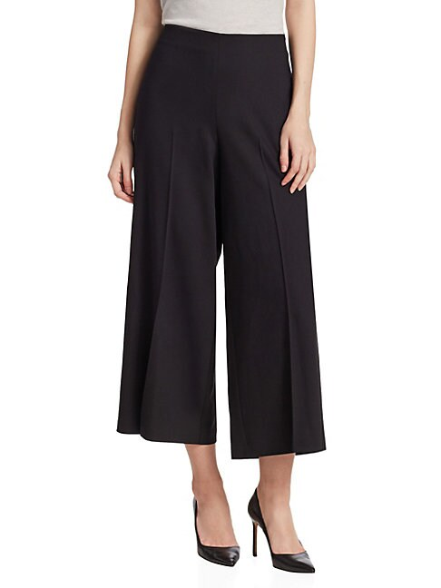 SAKS FIFTH AVENUE | COLLECTION High-Waisted Wide-Leg Trouser | Goxip