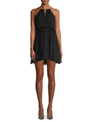 Joie Althia Silk Mini Shift Dress