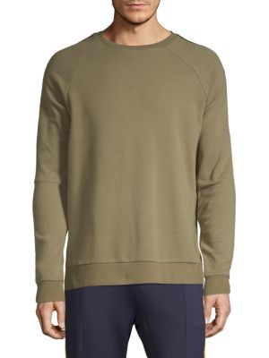 SOVEREIGN CODE Raglan-Sleeve Sweater in Olive