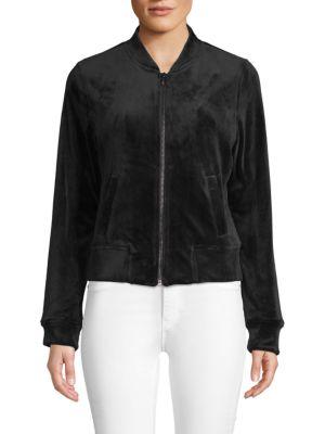 Marc New York Stretch Velvet Jacket