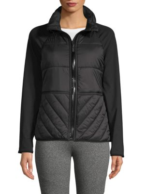 Marc New York Long-Sleeve Quilted Jacket