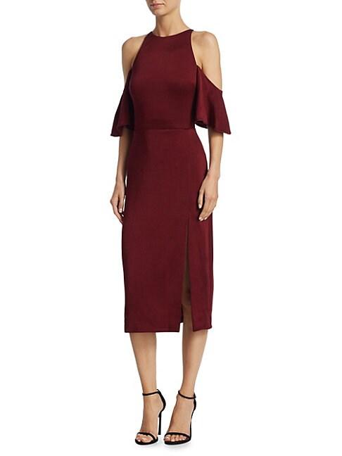 Cushnie Et Ochs Dresses MONA COLD-SHOULDER SHEATH DRESS