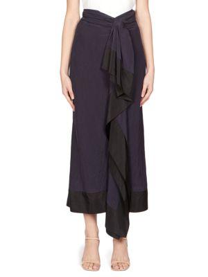 Dries Van Noten Skirts Pareo Ruffled Skirt