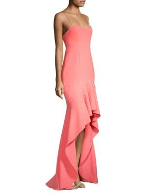Likely Tops Vita Ruffle High-Low Gown