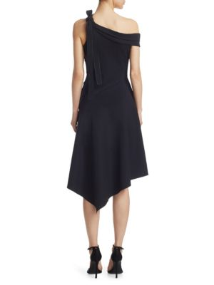 DEREK LAM Midi dresses One-Shoulder Midi Dress