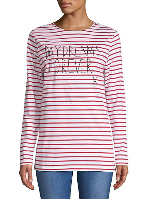 EACH X OTHER | Striped Long-Sleeve Tee | Goxip