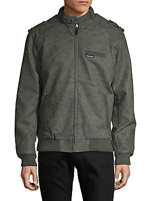 Members Only Classic Hooded Bomber Jacket Saksoff5th Com