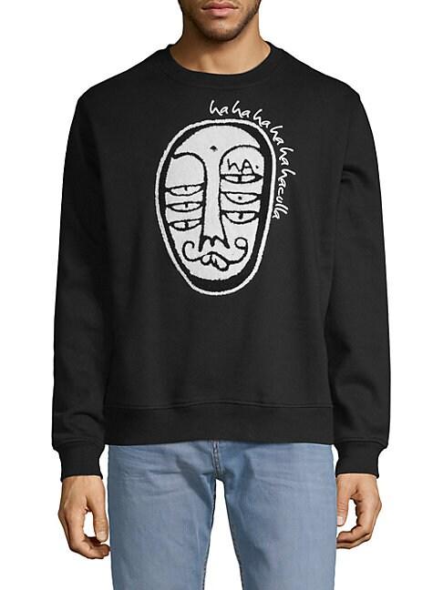 Soho Crew Graphic Sweater