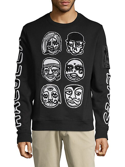 All Character Crew Graphic Sweater