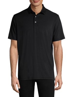 GREYSON Casual Short-Sleeve Polo