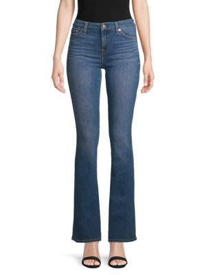 7 For All Mankind Kimmie Bootcut Jeans In Lotus