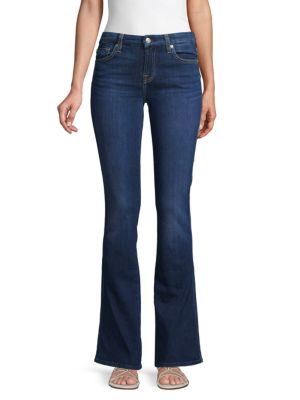 7 For All Mankind Kimmie Bootcut Jeans In Midnight Garden
