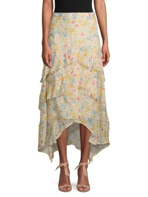 Love Sam Floral Layered Skirt