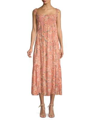 Love Sam Jeanie Floral Maxi Dress