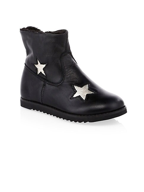 OLD SOLES | Little Girl's & Girl's Faux Shearling Twinkle Boots | Goxip
