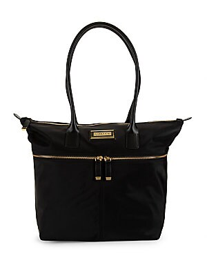 Susan Small Leather Tote by Calvin Klein